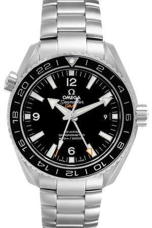 Omega Stainless Steel Seamaster Planet Ocean GMT 232.30.44.22.01.001 Men's Wristwatch 43.5 MM