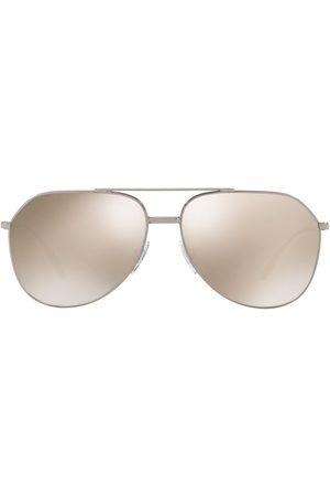 Dolce & Gabbana Men Aviators - Aviator-frame logo sunglasses