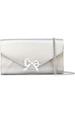 Marchesa Notte Women Clutches - Crystal-bow clutch