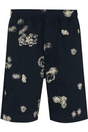 WoodWood Alfred rose print shorts