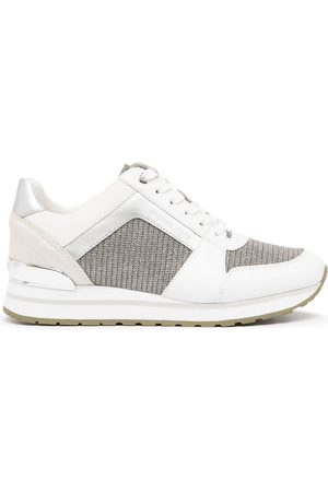 Michael Kors Women Sneakers - Billie low-top leather sneakers