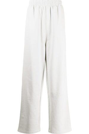 Balenciaga Political Campaign logo track pants - Grey
