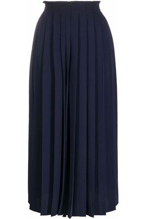MM6 MAISON MARGIELA Pleated culotte trousers
