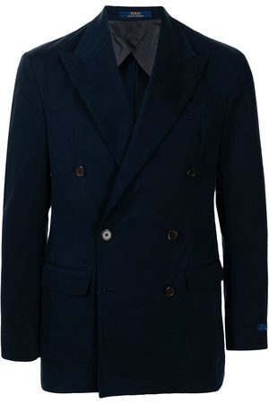 Polo Ralph Lauren Men Blazers - Double-breasted cotton blazer