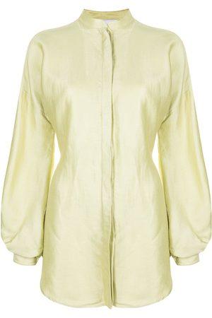 Bondi Born Bretagne bishop-sleeve shirtdress - SPRING