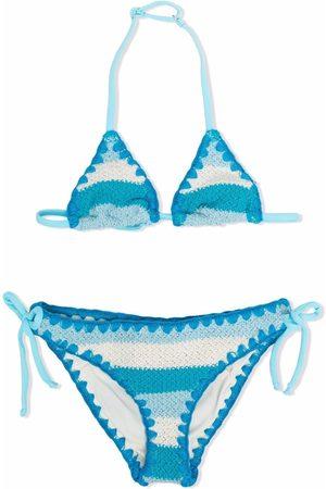 MC2 Saint Barth Kids Girls Loungewear - Striped two-piece swimsuit