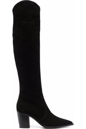 Gianvito Rossi Women Thigh High Boots - Over-the-knee pointed boots