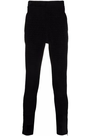 Givenchy Men Sweatpants - 4G knitted jogging bottoms