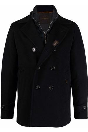 MOORER Double-breasted fleece jacket