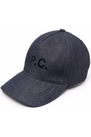 A.P.C. Men Caps - Logo-print cap