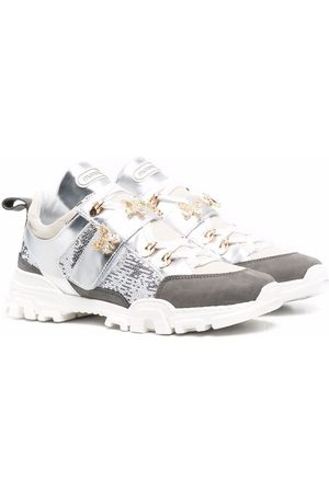 MONNALISA TEEN dragonfly-embellished chunky sneakers