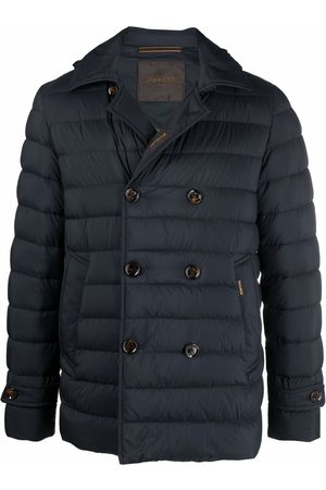 MOORER Double-breasted padded jacket