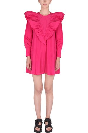 RED Valentino Women Dresses - Taffetas dress with ruches