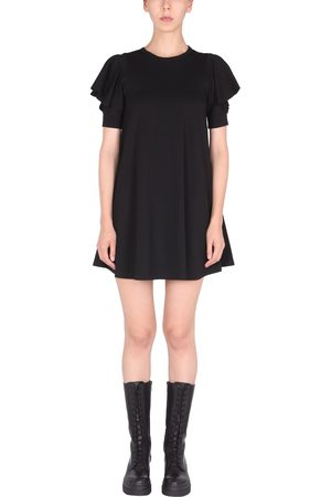 RED Valentino Jersey dress with ruffle detail