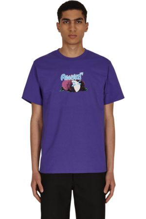 AWAKE NY Men T-shirts - Lychee logo t-shirt BERRY S