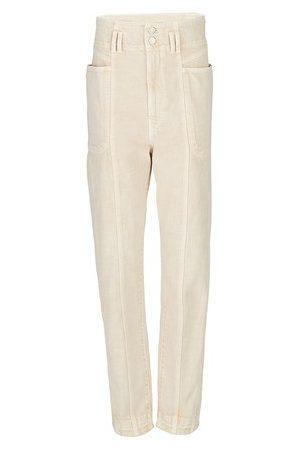 Isabel Marant Women Straight Leg Pants - Tess pants