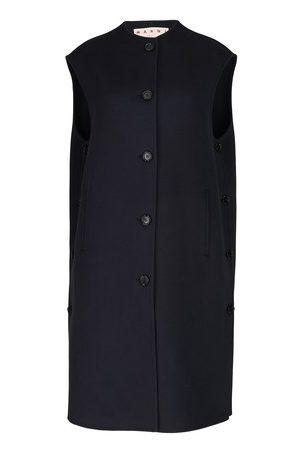 Marni Women Cardigans - Longline wool and cashmere cardigan