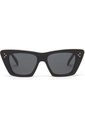 Céline Cat-eye Acetate Sunglasses - Womens
