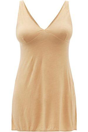About V-neck Lyocell-blend Jersey Nightdress - Womens