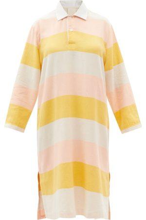 Marrakshi Life Striped Cotton Kaftan - Womens - Stripe