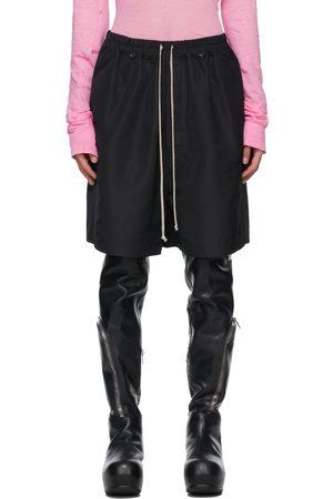 Rick Owens Black Faun Shorts