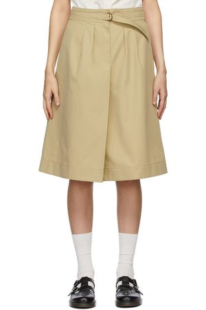 A.P.C. Beige Caroline Skirt