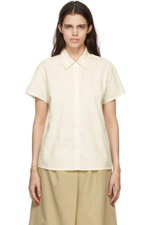 A.P.C. Off-White Marina Short Sleeve Shirt