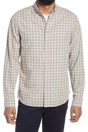 Vince Men Shirts - Men's Plaid Button-Down Oxford Shirt