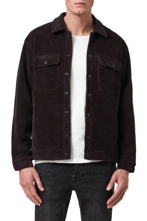 AllSaints Men's Coronet Snap-Up Corduroy Jacket