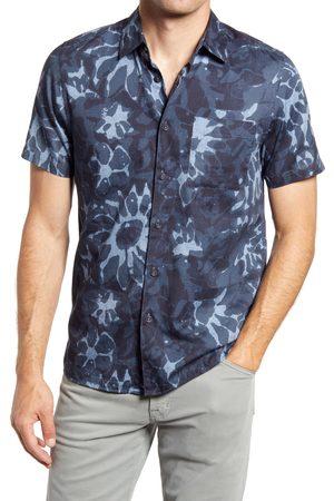 Ted Baker London Men's Ufroze Oversize Short Sleeve Button-Up Shirt