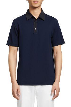 Theory Men's Chesney Function Short Sleeve Pique Polo