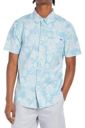 Chubbies Men's The Wanderer Floral Short Sleeve Button-Down Shirt