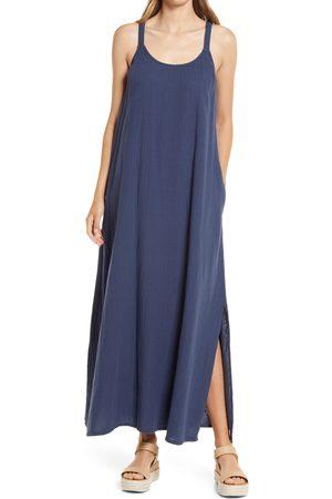 CaslonR Women's Caslon Textured Cotton Sleeveless Maxi Dress