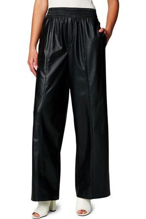 BLANKNYC Women Leather Pants - Women's Faux Leather Pull-On Pants