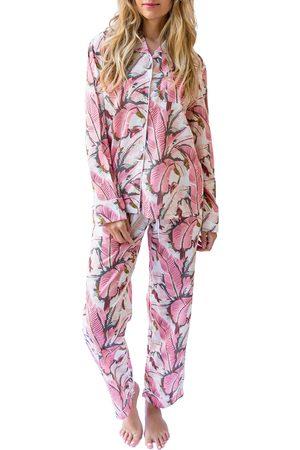 Sant and Abel Women's Martinique Banana Leaf Pajamas