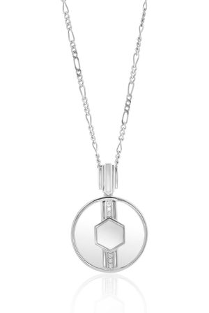 V by Laura Vann Cindy rhodium-plated sterling necklace