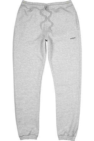 Soulland Elijah grey mélange jersey sweatpants