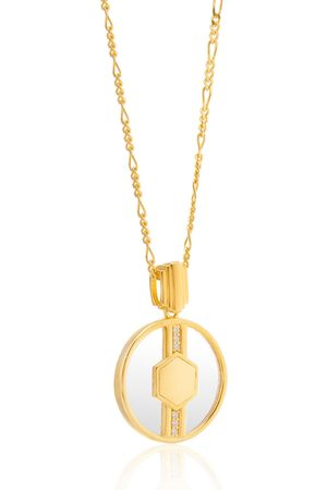 V by Laura Vann Cindy 18kt -plated necklace