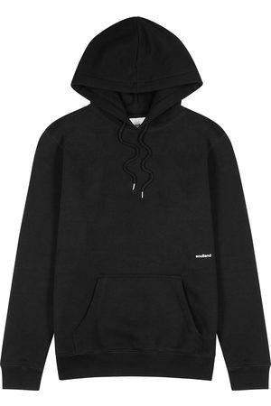 Soulland Men Sweatshirts - Wallance hooded jersey sweatshirt