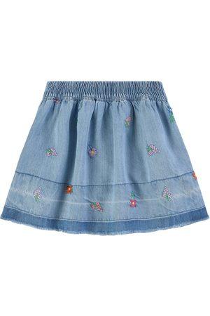 Stella McCartney Kids - Flowers Skirt - Girl - 2 years - - Denim skirts