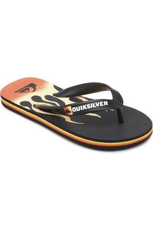 Quiksilver Boys Flip Flops - Molo Flame Youth Flip Flops EU 38 / / Yellow