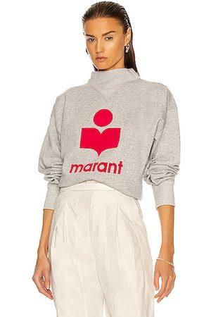 Isabel Marant Moby Sweatshirt in Grey