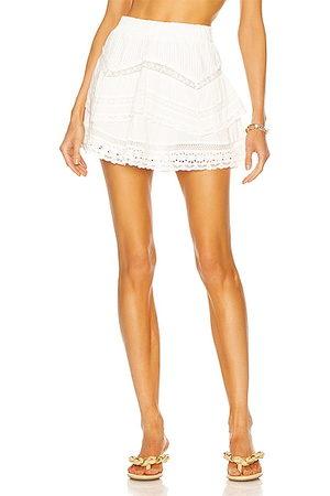 LOVESHACKFANCY Abrielle Skirt in