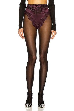 Saint Laurent Lace Culotte Underwear in