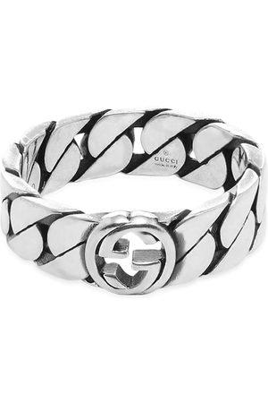 Gucci Men Rings - Interlocking G Gourmette Ring 6mm