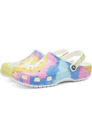 Crocs Men Clogs - Classic Tie Dye Graphic Clog
