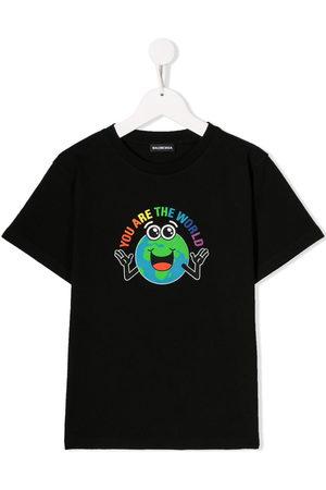 Balenciaga Boys T-shirts - You Are The World T-shirt