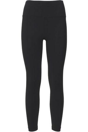 WARDROBE.NYC Women Leggings - Bonded Stretch Jersey Leggings