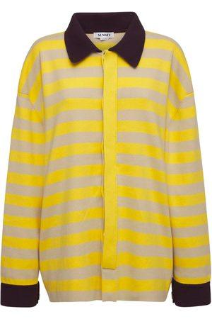 SUNNEI Striped Cotton Jersey Shirt