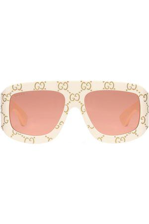 Gucci Men Sunglasses - Gg Logo All Over Acetate Sunglasses